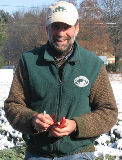 JP Welch of Justameretree Farm