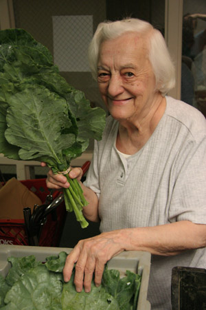 Senior FarmShare recipient