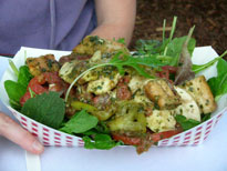 Local Hero salad from the Wagon Wheel