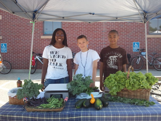 Gardening the Community Youth Participants