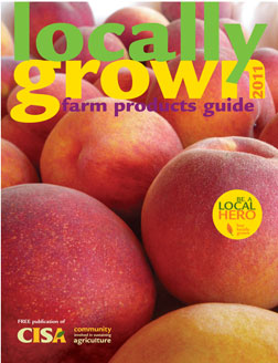 Cover of the 2011 Farm Products Guide.
