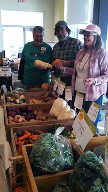 Coyote Hill Farm at the Greenfield Winter Farmers Market