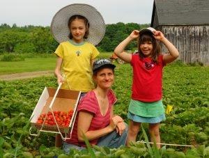 upinngil.strawberries.pickyourown.kids