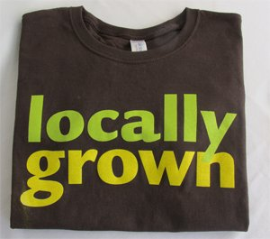 image of Locally Grown T-Shirt (ladies cut)