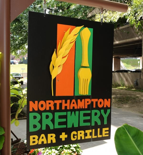 northampton brewery sign