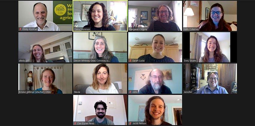 CISA staff on zoom
